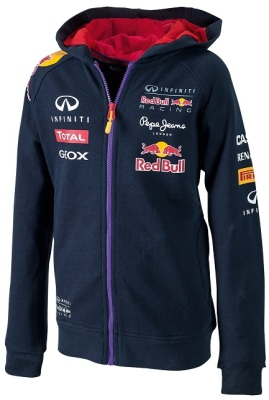 Детская ветровка Infiniti Red Bull Official Teamline Hoody