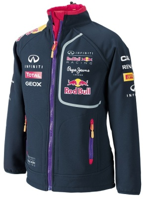 Детская ветровка Infiniti Red Bull Official Teamline Softshell Jacket