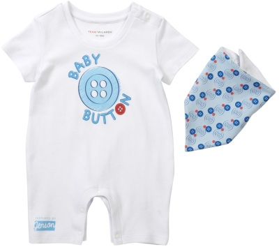 Детский комплект McLaren 2014 Baby Button Romper Suit
