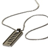 Подвеска McLaren LINKS Perforated Dog Tag, артикул MCLS3144