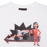 Футболка McLaren Men's Fittipaldi TOONED 50 T-Shirt, артикул TND051XS