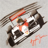 Футболка McLaren Men's Ayrton Senna by McLaren Car T-Shirt, артикул ASC1XS