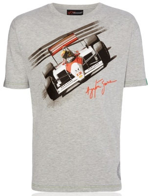 Футболка McLaren Men's Ayrton Senna by McLaren Car T-Shirt