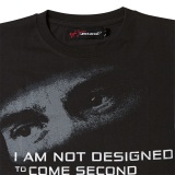 Футболка McLaren Men's Ayrton Senna by McLaren Quote T-Shirt, артикул ASC2XS