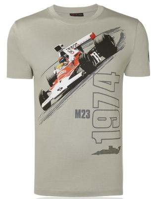 Футболка McLaren Men's 1974 M23 Car Print T-Shirt