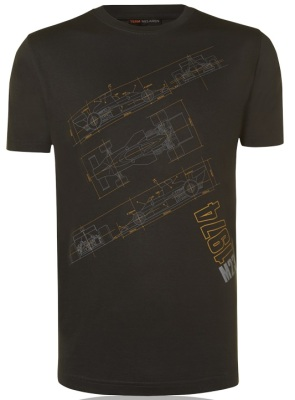 Футболка McLaren Men's 1974 M23 Technical Print T-Shirt