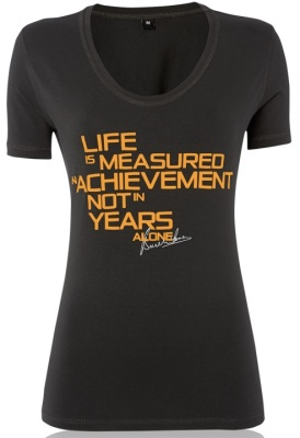 Женская футболка McLaren Women's McLaren 50 Quote T-Shirt