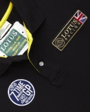Рубашка-поло Lotus Mens '7 Time GP Winners' Polo Shirt Black, артикул 5055421526726