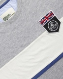Футболка Lotus UK Flag Horizontal Stripe T-shirt Grey, артикул 5055421523008