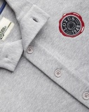 Кофта Lotus Mens Button Up Sweatshirt Grey, артикул 5055421521868