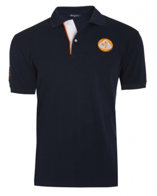 Рубашка-поло Lotus '№ 1' Polo Shirt Navy