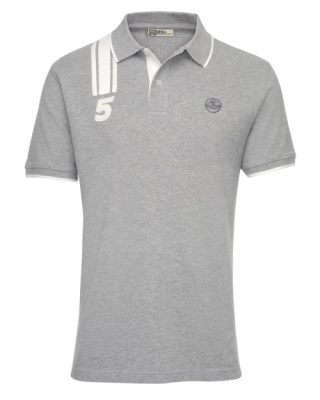 Рубашка-поло Lotus '№.5' Polo Shirt Grey