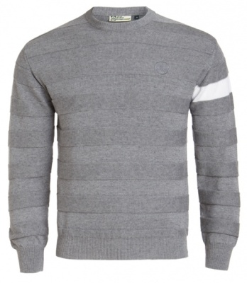 Свитер Lotus Cashmere Cotton Crew Neck Grey