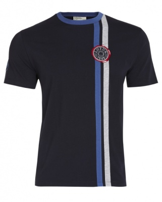Футболка Lotus 1948 Patc Stripe T-shirt Navy