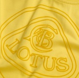 Футболка Lotus Roundel T-shirt Yellow, артикул 5055421501624