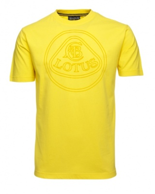 Футболка Lotus Roundel T-shirt Yellow