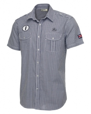 Рубашка Lotus Patched Short-Sleeved Shirt