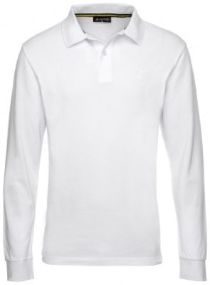 Рубашка Lotus Polo Shirt Long-Sleeved White