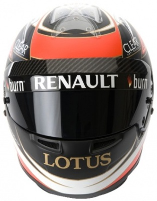 Копия шлема Lotus F1 Team 2013 Kimi Replica Helmet 1:1