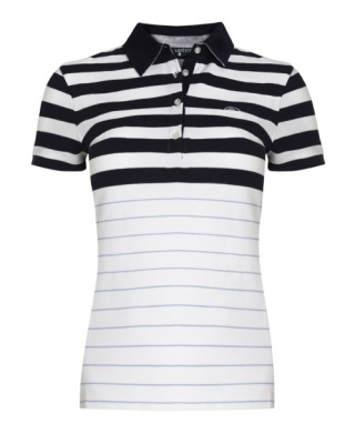 Женская рубашка-поло Lotus Ladies Striped Polo Shirt Sleeve