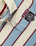 Детская рубашка-поло Lotus Childs UK Flag Horizontal Stripe Polo Shirt Angel, артикул 5055421524265