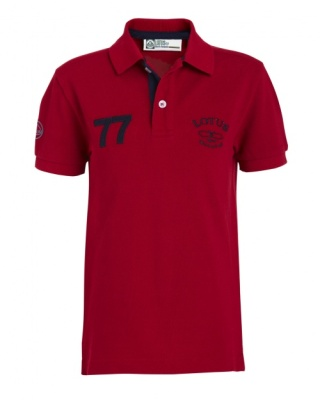 Детское поло Lotus Childrens '№.77' Polo Shirt Red