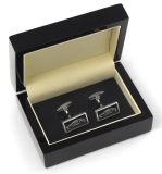Запонки Lotus Sterling Silver Evora Oblong Cufflinks, артикул 5055421507053