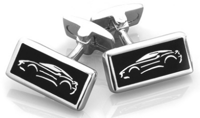 Запонки Lotus Sterling Silver Evora Oblong Cufflinks