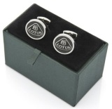 Запонки Lotus Carbon Fibre Cufflinks, артикул 5055421515041