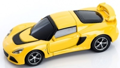 Флешка Lotus Exige S 1.63 Scale 8GB USB Yellow