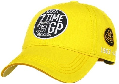 Бейсболка Lotus Vintage 7 Times Winner Cap Yellow