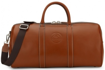 Сумка Lotus Brown Leather Boston Bag