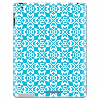 Наклейка на iPad Marussia Pattern 1 Blue