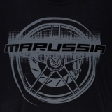 Футболка Marussia Wheel Tee Black, артикул S02120107
