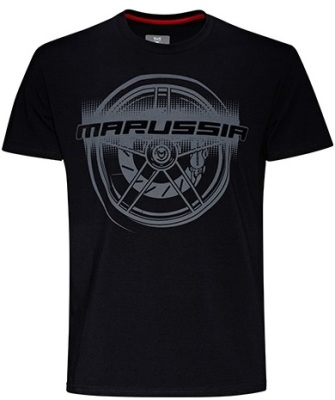 Футболка Marussia Wheel Tee Black