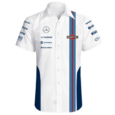 Мужская рубашка Williams Men's Team Short Sleeve Shirt