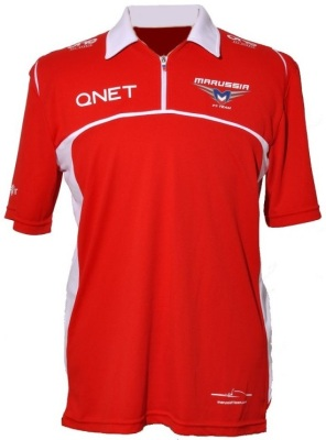 Мужское поло Marussia Men's Race Polo Shirt