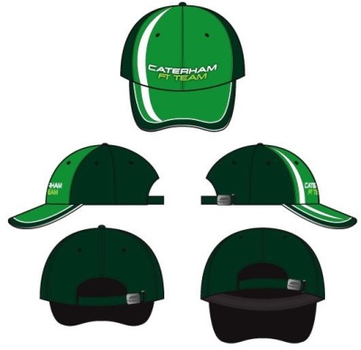 Бейсболка Caterham 2014 Team Replica Cap