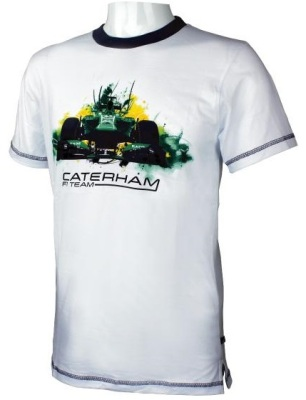 Мужская футболка Caterham 2013 T-shirt F1 Car Print - Men