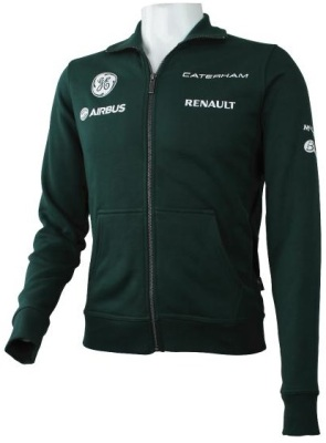 Мужская толстовка Caterham 2013 Replica Full Zip Fleece Men