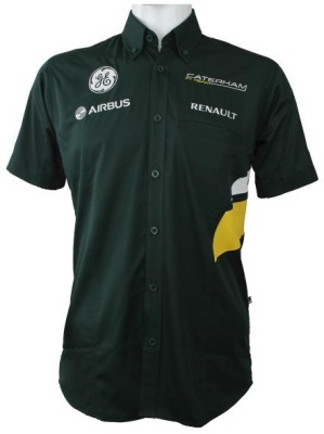 Мужская рубашка Caterham 2013 Team Replica Race Shirt Men