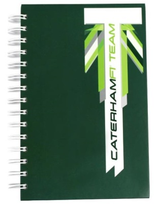 Блокнот Caterham 2014 Notebook