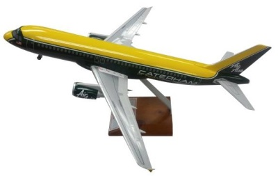 Модель самолета Caterham A320 Caterham F1 Team Model Plane