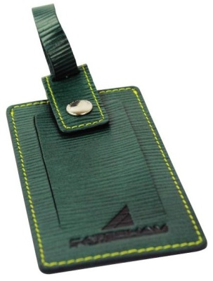 Багажная бирка Caterham Leather Luggage Tag