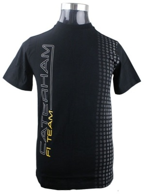 Футболка Caterham F1 Team Performance T-shirt (Black)