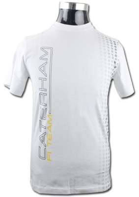 Футболка Caterham F1 Team Performance T-shirt (White)