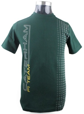 Футболка Caterham F1 Team Performance T-shirt (Green)