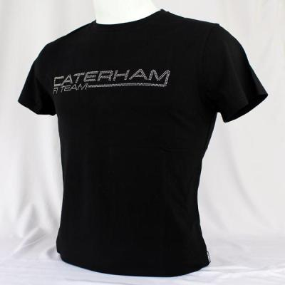 Мужская футболка Caterham Men Studded T-shirt - Black