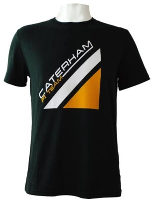 Мужская футболка Caterham 2013 T-shirt Men - Flock Caterham F1 Team logo - Green