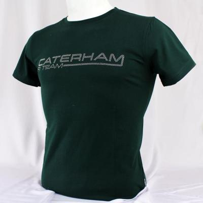 Мужская футболка Caterham Men Studded T-shirt - Caterham Green